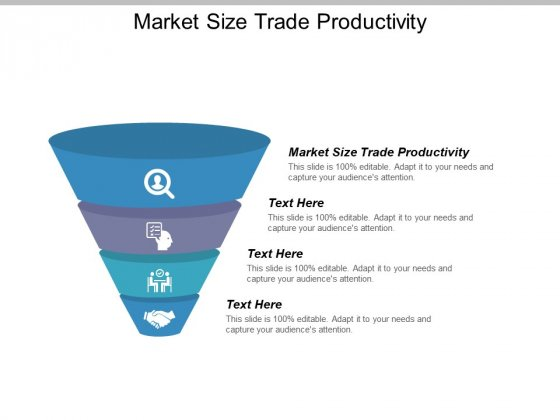 Market Size Trade Productivity Ppt PowerPoint Presentation Portfolio Summary