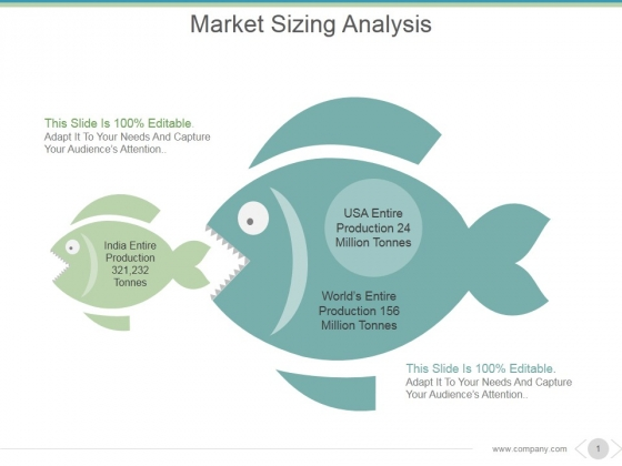 Market Sizing Analysis Ppt PowerPoint Presentation Themes