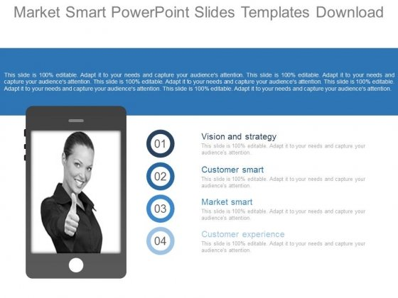 Market Smart Powerpoint Slides Templates Download