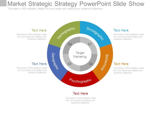 Market Strategic Strategy Powerpoint Slide Show