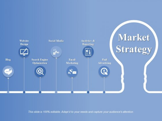 Market Strategy Ppt PowerPoint Presentation Icon Master Slide