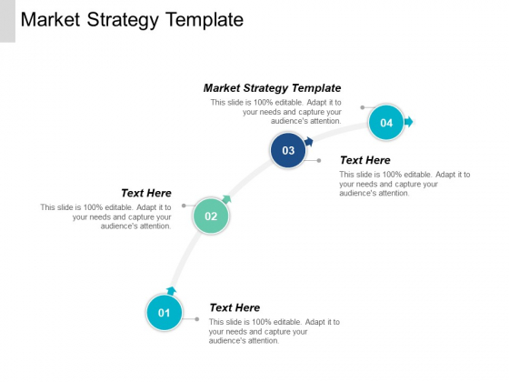 Market Strategy Template Ppt PowerPoint Presentation Outline Design Templates Cpb