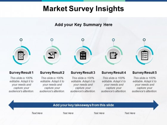 Market Survey Insights Ppt PowerPoint Presentation Outline Background Images