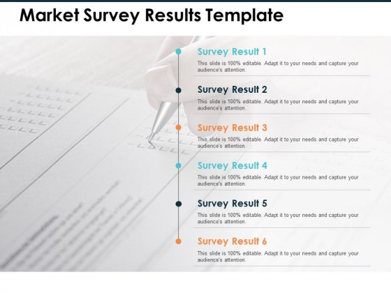 Market Survey Results Ppt PowerPoint Presentation Summary Portfolio