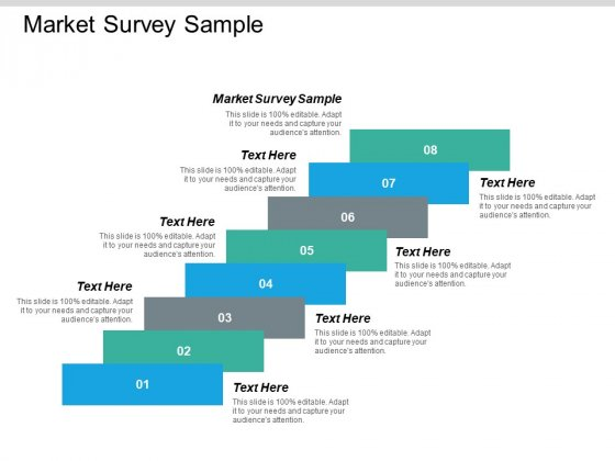 Market Survey Sample Ppt PowerPoint Presentation Styles Show Cpb
