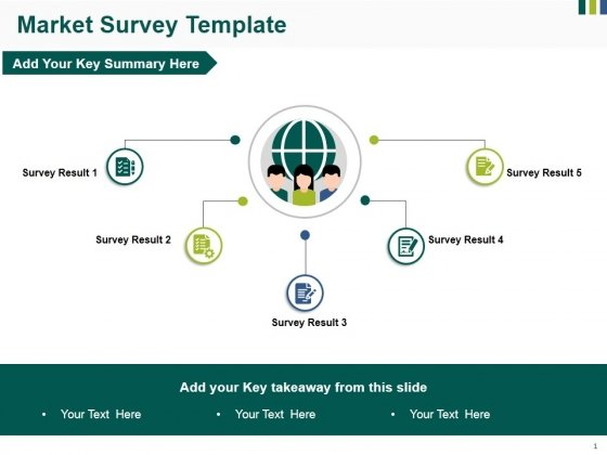 Market Survey Template Ppt PowerPoint Presentation File Microsoft