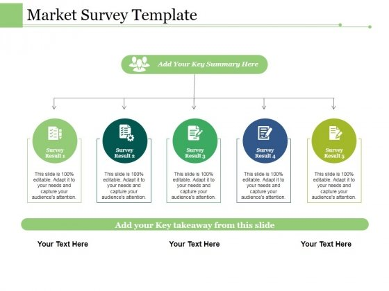 market survey template ppt powerpoint presentation gallery grid