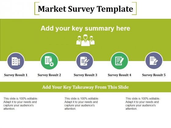 Market Survey Template Ppt PowerPoint Presentation Infographic Template Topics