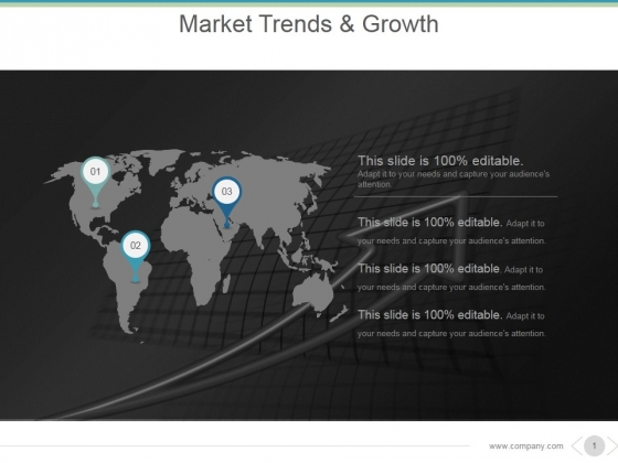 Market Trends And Growth Ppt PowerPoint Presentation Topics