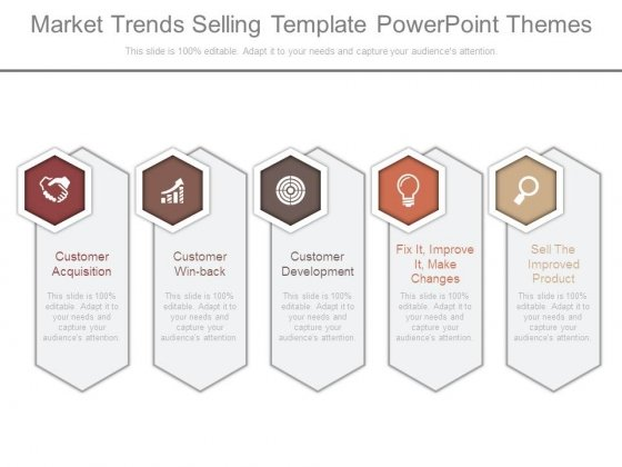 market trends selling template powerpoint themes powerpoint templates