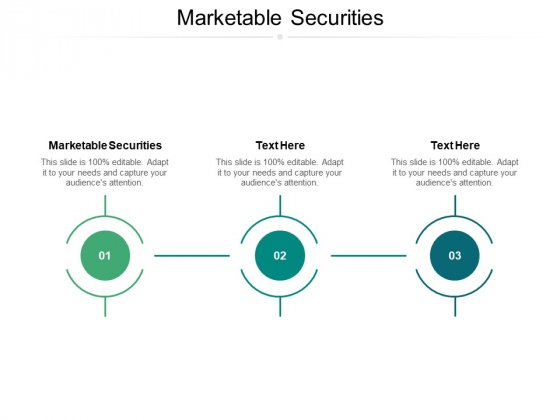 Marketable Securities Ppt PowerPoint Presentation Show Images Cpb