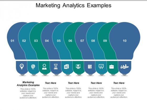 Marketing Analytics Examples Ppt PowerPoint Presentation Show Guide