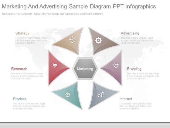 Marketing And Advertising Sample Diagram Ppt Infographics