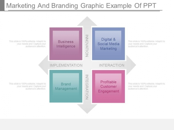 Marketing And Branding Graphic Example Of Ppt