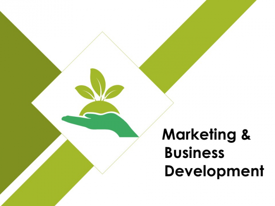 Marketing And Business Development Ppt PowerPoint Presentation Gallery Graphic Tips