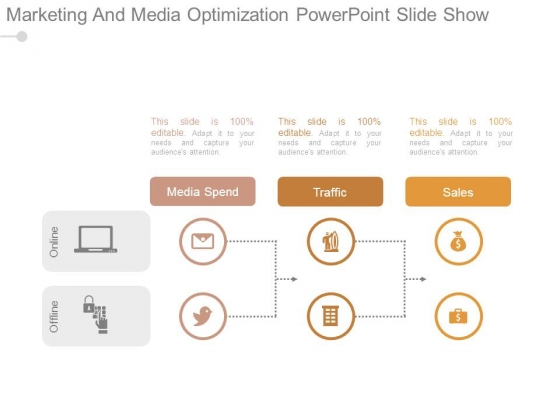 Marketing And Media Optimization Powerpoint Slide Show