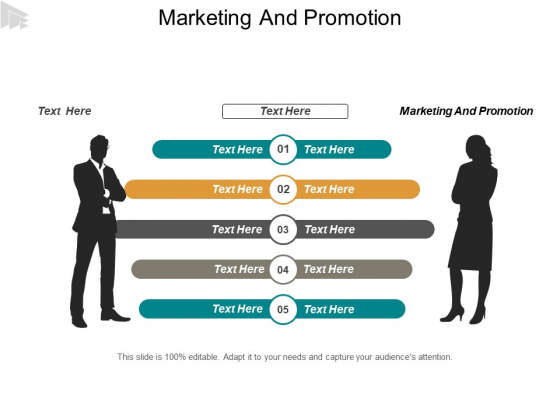Marketing And Promotion Ppt PowerPoint Presentation File Format Cpb