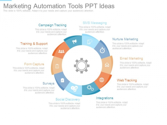Marketing Automation Tools Ppt Ideas
