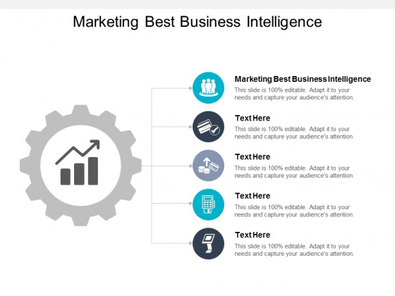 Marketing Best Business Intelligence Ppt PowerPoint Presentation Outline Templates Cpb