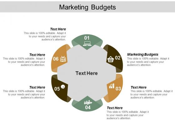Marketing Budgets Ppt Powerpoint Presentation Styles Graphics Tutorials Cpb