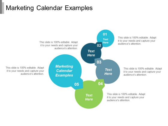 Marketing Calendar Examples Ppt Powerpoint Presentation Gallery Template