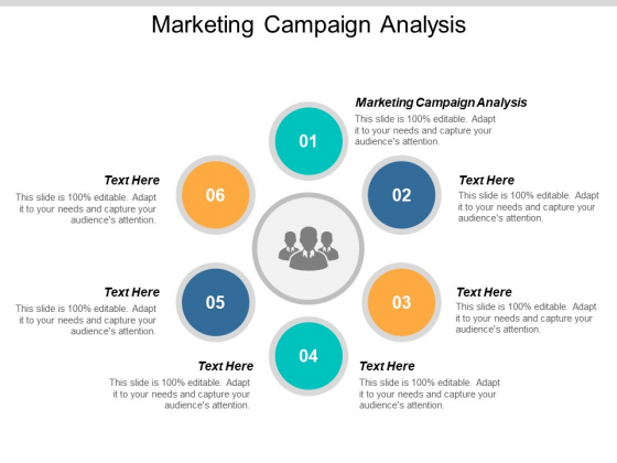 Marketing Campaign Analysis Ppt PowerPoint Presentation Pictures Smartart Cpb