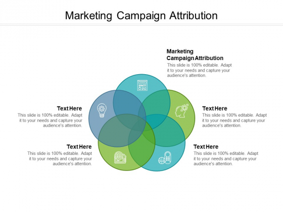 Marketing Campaign Attribution Ppt PowerPoint Presentation Portfolio Samples Cpb Pdf