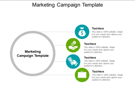 Marketing Campaign Template Ppt PowerPoint Presentation Show Grid Cpb