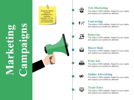 Marketing Campaigns Ppt PowerPoint Presentation Outline Infographic Template