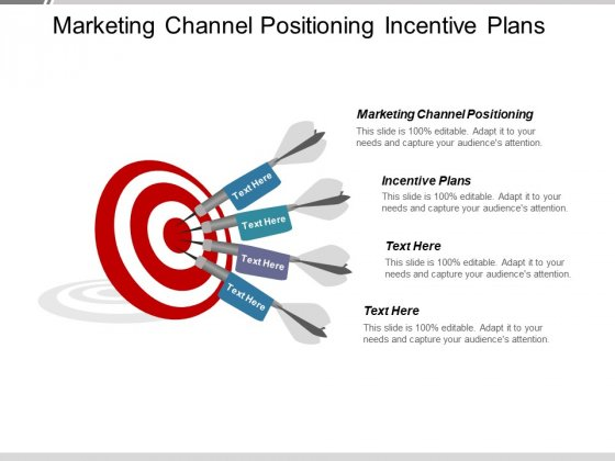 Marketing Channel Positioning Incentive Plans Ppt PowerPoint Presentation Icon Graphics Template
