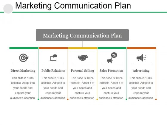 Marketing Communication Plan Ppt PowerPoint Presentation Outline Maker
