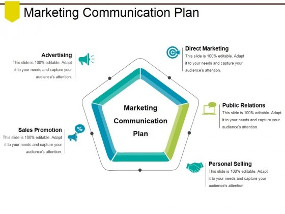 Marketing Communication Plan Ppt PowerPoint Presentation Slides Elements