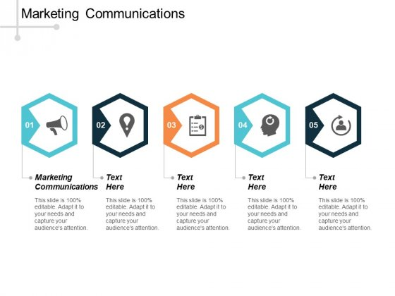 Marketing Communications Ppt PowerPoint Presentation Icon Gridlines Cpb