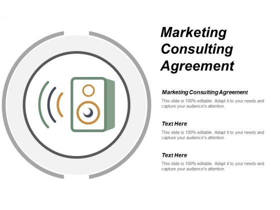 Marketing Consulting Agreement Ppt PowerPoint Presentation Visual Aids Outline Cpb