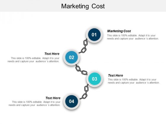 Marketing Cost Ppt PowerPoint Presentation Professional Sample Cpb
