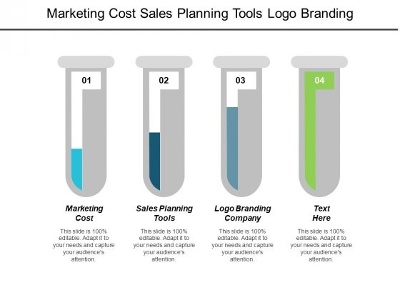 Marketing Cost Sales Planning Tools Logo Branding Company Ppt PowerPoint Presentation Infographic Template Show