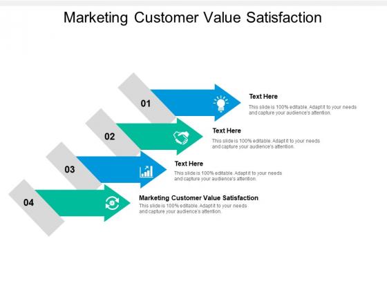 Marketing Customer Value Satisfaction Ppt PowerPoint Presentation Infographics Ideas