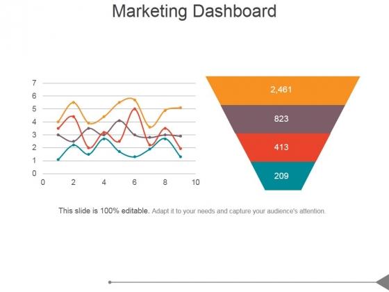 Marketing Dashboard Ppt PowerPoint Presentation Slide