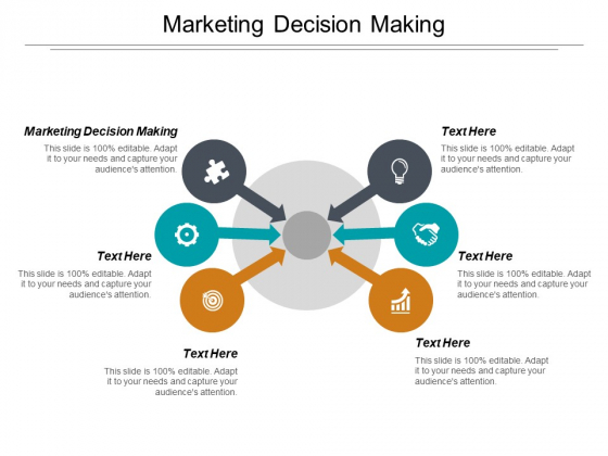 Marketing Decision Making Ppt PowerPoint Presentation Styles Show Cpb