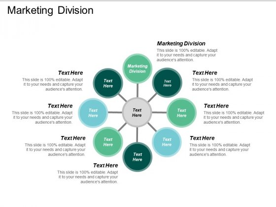 Marketing Division Ppt PowerPoint Presentation Model Display Cpb