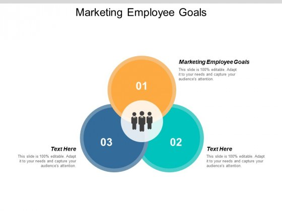 Marketing Employee Goals Ppt PowerPoint Presentation Model Outfit Cpb