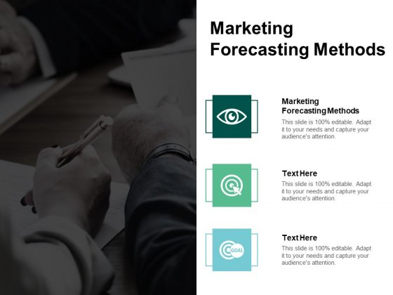 Marketing Forecasting Methods Ppt PowerPoint Presentation Inspiration Maker Cpb