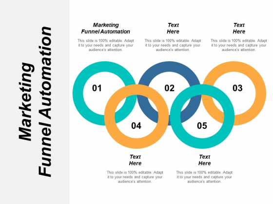 Marketing Funnel Automation Ppt PowerPoint Presentation Portfolio Icons Cpb