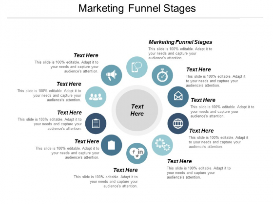 Marketing Funnel Stages Ppt PowerPoint Presentation File Layouts