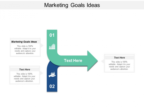 Marketing Goals Ideas Ppt PowerPoint Presentation Summary Visual Aids Cpb