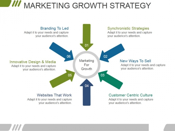 Marketing Growth Strategy Template 1 Ppt PowerPoint Presentation Gallery Format