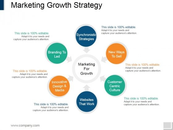 Marketing Growth Strategy Template 1 Ppt PowerPoint Presentation Infographics Icons