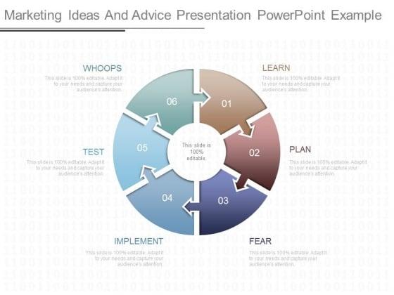 Marketing Ideas And Advice Presentation Powerpoint Example