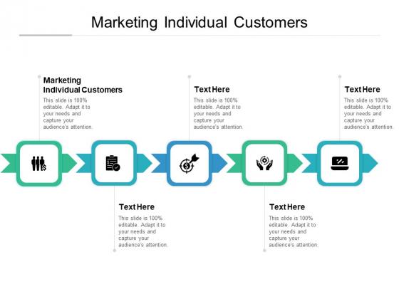 Marketing Individual Customers Ppt PowerPoint Presentation Summary Display Cpb Pdf