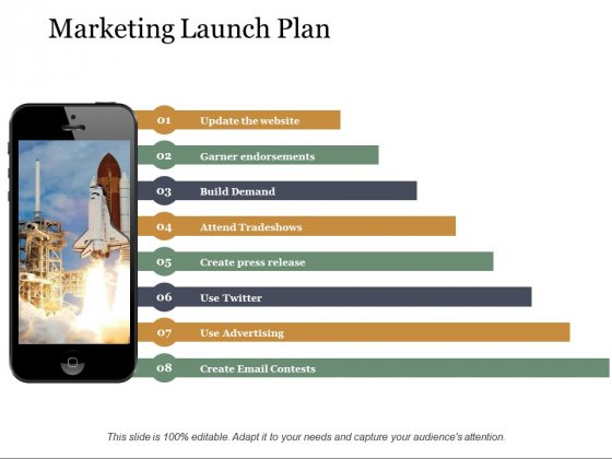Marketing Launch Plan Ppt PowerPoint Presentation File Model